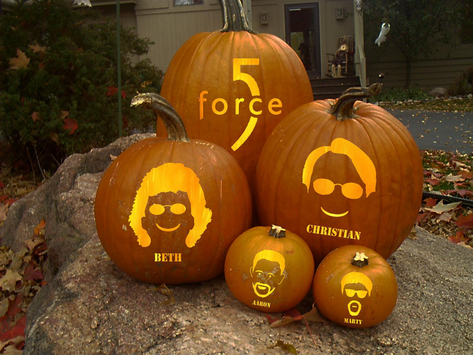 F5 pumpkins