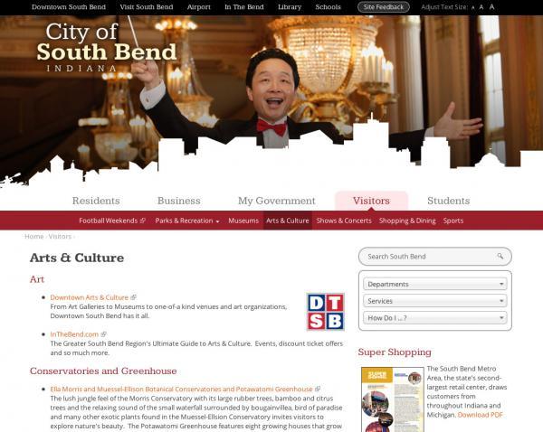City Of SB Arts Page