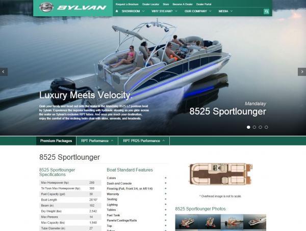 Sylvan Boat Page
